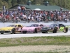3-wide with (left to right) Kyle Welch, Jamie Fisher, Rowland Robinson
