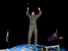 Adam Pierson celebrate his dominating win