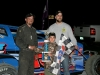 Adam Pierson in Victory Lane