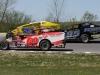 The all-new Northern Modified Challenge Series opens at Thunder Road Int'l Speedbowl in Barre, VT with the Mekkelsen RV Memorial Day Classic on Sunday, May 26.  Hunter Bates (#69), Ron Proctor (#27), and Jeff Haskins (#95) are among the drivers expected to enter the series.  (Alan Ward photo)