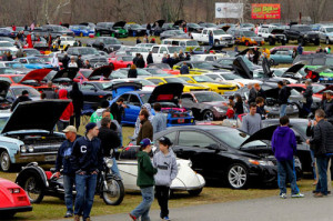 2,400 cars, bikes and trucks came last year The 2014 goal is 3,000