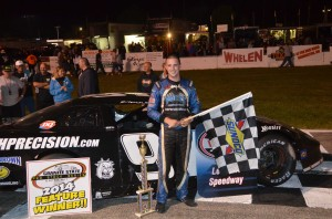 Lee USA Joey Ploe in Victory Lane