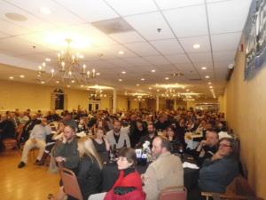Banquet room crowd