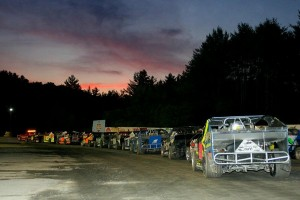 The Sportsman Modifieds are ready to roll under the setting sun