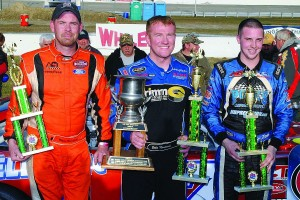 ACT top three - Wayne Helliwell, Jr., winner Eddie MacDonald, Joey Pole.