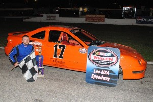 Jesse Tellier took the 4-cylinder Ironman checkers.