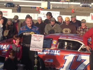 EddieMacDonald Wins the American Canadian Tour Opener at Lee USA Speedway